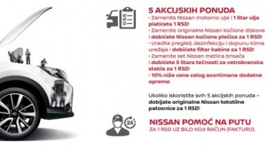 Nissan happy days servisna akcija